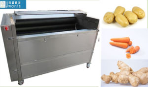 Industrial Potato Washing and Peeling Machine pictures & photos