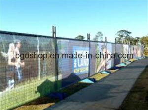 PVC Mesh Banner Canvas PVC Film Fence (1000X1000 12X12 370g) pictures & photos