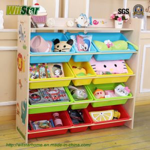 Multiple Functions Kid′s Toy Shelf (WS16-0243)