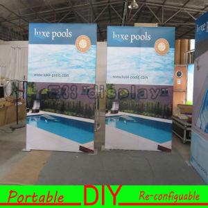 Custom Design Fabric Portable Modular Trade Show DIY Exhibition Banner pictures & photos