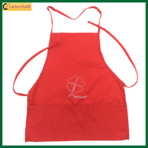 Small Red Cute Child Cotton Apron (TP-0B019) pictures & photos