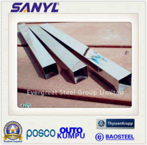 304 Grade Stainless Steel Square Pipe pictures & photos