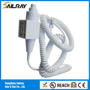 3cores 2.2m Two Step X-ray Hand Switch with RJ45 Connector pictures & photos