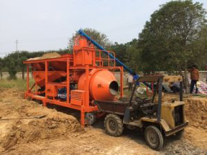 Mobile Concrete Mixing Plant, Concrete Batching Plant, Mobile Concrete Mixing Plant pictures & photos