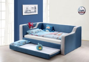 2017 New and Hot Children Bed Single Modern Fabric Beds pictures & photos