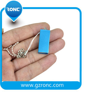 Metal Flash USB Drive with Keychain for Christmas Gifts pictures & photos