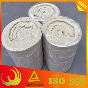 Rock-Wool Pipe Insulation Material with Wire Mesh pictures & photos