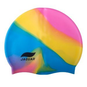 Muiti-Color Adult Stretch Waterproof Silicone Swimming Caps pictures & photos