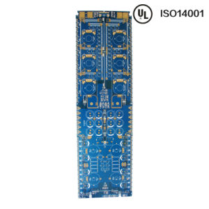 Gold Plating Blue Mask 8layers PCB pictures & photos
