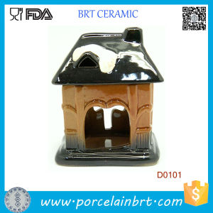Pot House Shape Design Ceramic Oil Burner pictures & photos