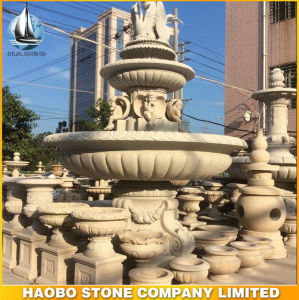 Big Size Granite Water Fountain for Garden Ornament pictures & photos