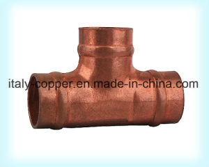 Customized Quality Brass Forged Equal Tee (AV-70024) pictures & photos