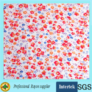 Factory Supply Printed Rayon Fabric for Women Clothing pictures & photos