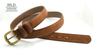 Classic and Basic Man Belt with Split Leather Linning M606 pictures & photos
