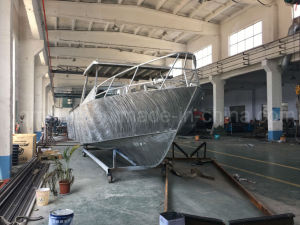 28FT 8.6m Aluminum Cargo Boat with Hardtop pictures & photos