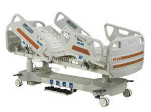 CE FDA ISO13485 Quality Multifunctional Electric Hospital Bed (ICU bed) (ALK06-B09P) pictures & photos