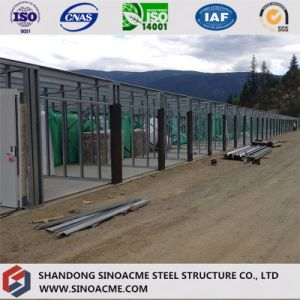Prefab Steel Construction Warehouse with Two-Floor Office Building pictures & photos