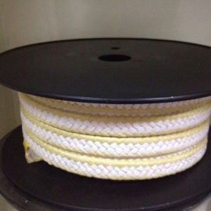 White PTFE Gland Packing with Aramid Corner pictures & photos