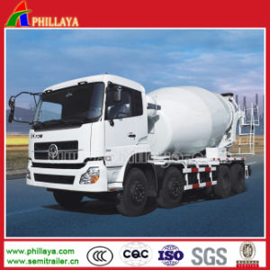 6X4 Heavy Duty Semi Trailer Truck Cement /Concrete Mixer pictures & photos