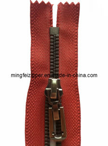5# Resin Bronze Thin Teeth Closed-End Zipper