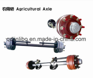 Trailer Parts Use Small Agricultural Axle Trailer Axle pictures & photos