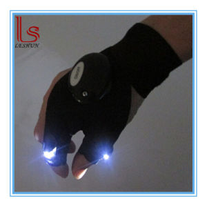 Outdoor Fishing Lighting Night LED Luminous Gloves pictures & photos