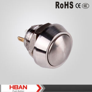 12mm Metal Reset Push Button Switch pictures & photos