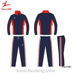 Custom Cheap Sublimated Sports Team Training Tracksuit Clothing pictures & photos