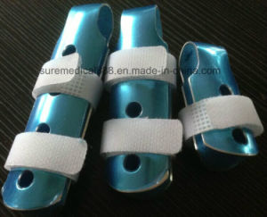 High Quality Aluminum Fold-Over Finger Splint (SR-T123B) pictures & photos