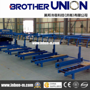 Lower Cost Trapezoidal Metal Roof Sheet Roll Forming Machinery pictures & photos