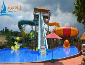 Space Bowl Water Slide for 4 People pictures & photos