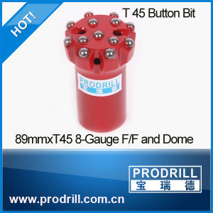 T45-89mm Button Bit pictures & photos