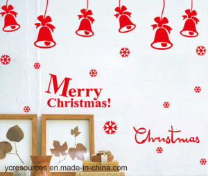 PVC Merry Christmas Wall Stickers (HA52010) pictures & photos
