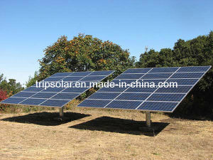 PV Solar Panel Pole Ground Mounting System
