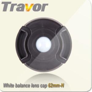 Camera White Balance Center Pinch Lens Cap 62mm