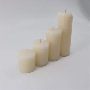 Wholesale 5X5 Decorative White Pillar Candles for Home Decorations pictures & photos