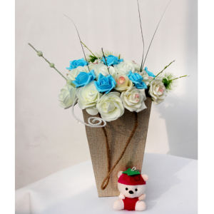 The Hottest Basket of Artificial Flowers06 pictures & photos