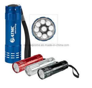 Push-Button Aluminum Flashlight (TD317)