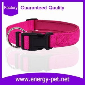Premium Soft Adjustable Neoprene Padded Nylon Dog Collar