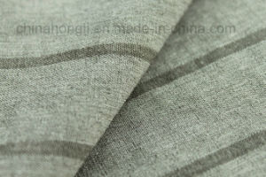 Cationic Polyester Stripe Fabric 150dx100d pictures & photos