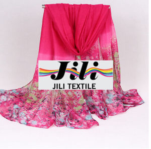 Curtain/Polyester/Garment /Scarf/Voile Fabric