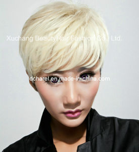 Direct Factory Price for Machine Made Synthetic Wigs pictures & photos