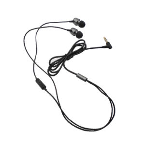 New Design Earbuds Wired 3.5mm Earphone with Metal Case pictures & photos