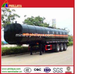 3 Axles 36-38cbm Storage Tank Bitumen Tanker for Sale pictures & photos
