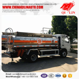 Wheelbase 3300mm 5000 Liters Refuel Tank Truck for Saudi Arabia pictures & photos