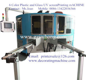 Glass Wine Bottle Screen Printing Machine pictures & photos