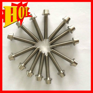M10 Gr2 DIN 933 Titanium Stud Hex Bolt for Industrial pictures & photos