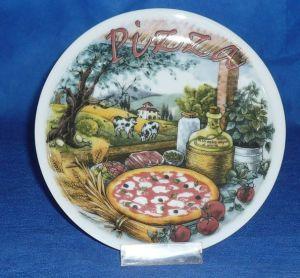 Pizza Plate, Porcelain Pizza Plate