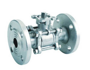 3 PC Flange Ball Valve