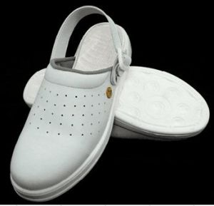 Shanghai Lingtech White Safety Shoes, White Safety Sandals